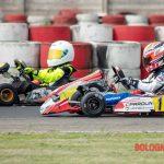Kart. Pole position, vittoria e giro veloce per Lorenzo Leopardi. Il piccolo pilota emiliano si aggiudica il Trofeo dâ__estate sulla Pista Winner (AT)