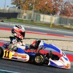 iame series italy_ lorenzo leopardi vince sul circuito internazionale di adria nella categoria x30 mini entry level.
